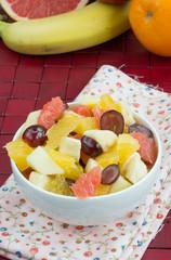 Tasty fruit salad