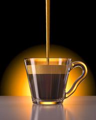 tazzina caffe' espresso