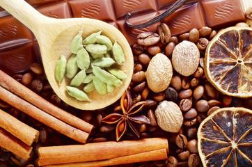 Obraz aroma spice - fototapety do salonu
