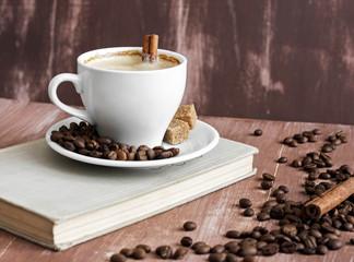 Утренний кофе и книга