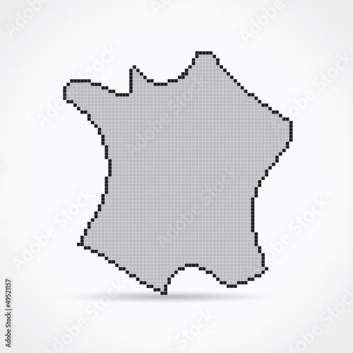 pixel art france