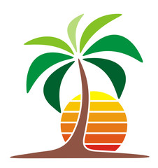 Symbol Logo Palm Beach