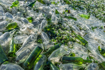 recovery of waste glass processing