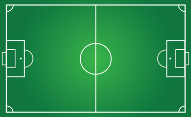 football pitch for team plan