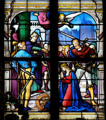 Saint Catherina of Alexandria - Stained Glass