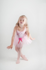 Ballet dancer dancing