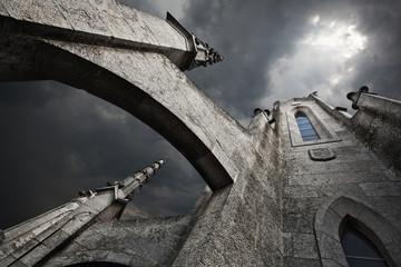The Temple del Sagrat Cor. Barcelona