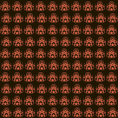 Colorful mosaic abstract Seamless pattern