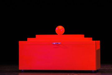 Rote Truhe