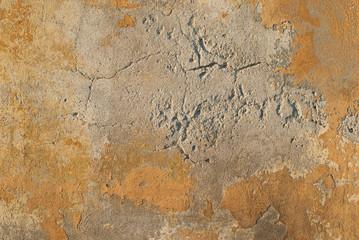 Fotobehang Oude vuile getextureerde muur Muro vecchio grezzo, trama