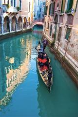 Türaufkleber Gondeln Venice, Italy.