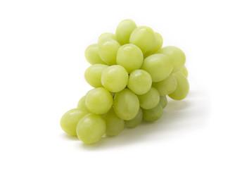 Yellow grape isolated Fototapete