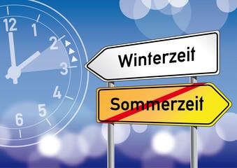 Winterzeit, Sommerzeit, Zeitumstellung, Uhr, Uhren