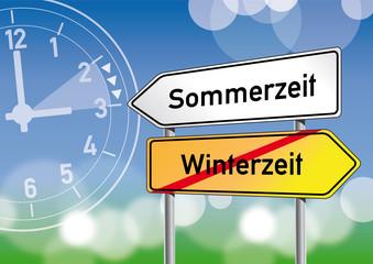 Sommerzeit, Winterzeit, Zeitumstellung, Uhr, Uhren