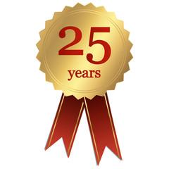 Jubiläum - 25 years