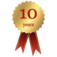 Jubiläum - 10 years