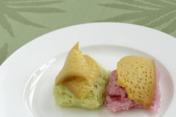 Sticky Rice Thai Dessert
