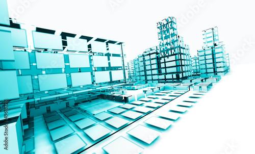 Arquitectura abstracta concepto de tecnologia y for Concepto de arquitectura