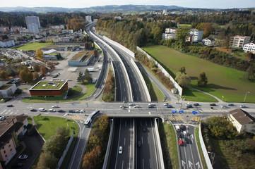 Autobahnausfahrt Emmen-Nord