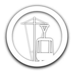 tramway vignette blanche