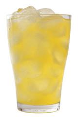 Orangen Limonade mit Eis