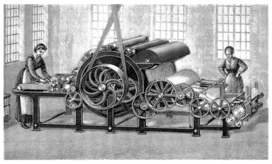 Machine : Textile Industry - 19th century