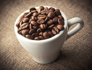 cup coffee background