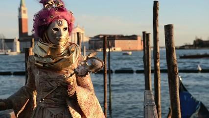 Wall Mural - Carnival Mask in Venice