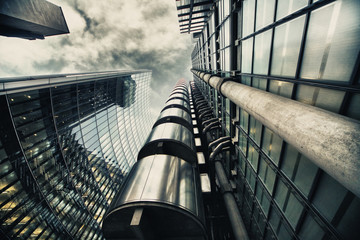 Fotobehang Londen skyscraper