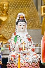 """goddess """"guan-im"""" statue in thailand"""