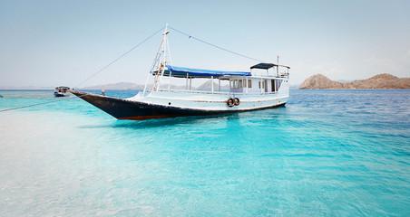 local fishing boat. Indonesia