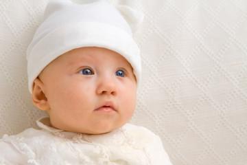 Cute Baby Close Up