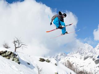 ski style aerial