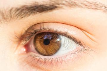 Girl Hazel Eye