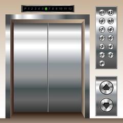 Elevator set