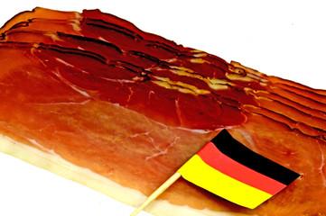 geräucherter Schinken aus dem Schwarzwald