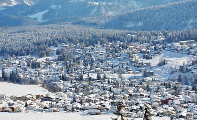 Wintersportort Flims