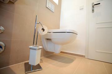 Moderne Toilette