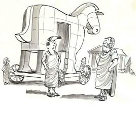Welding the Trojan Horse