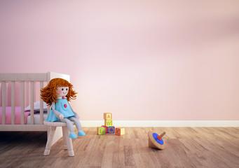 chambre poupée