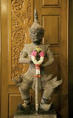 Old Thai giant sculpture