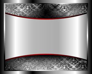 Metallic background with a pattern 2