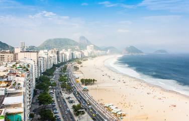 Foto op Canvas Rio de Janeiro Copacabana Beach