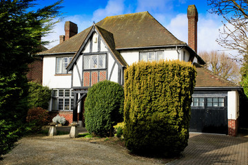 Mock Tudor house