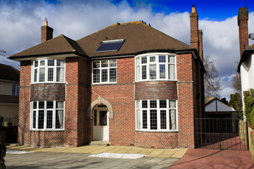 Large brick detached house