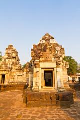 Castle rocks in the Northeast of Thailand, Sdok Kok Thom