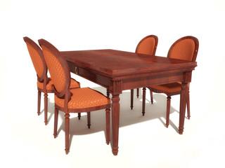 Klassische Ess - Sitzgruppe 2