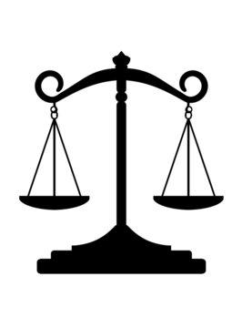 Balance symbole de la Justice