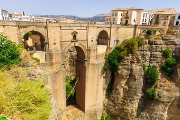 The Puente Nuevo bridge in Ronda