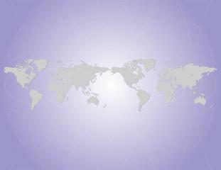Poster Carte du monde Mappamondo